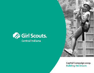 Girl Scouts of Central Indiana brochure