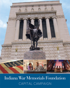 Indiana War Memorials Foundation brochure